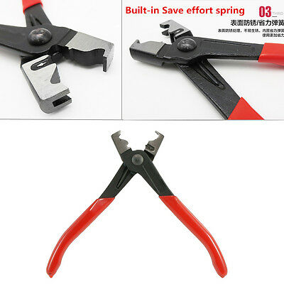 Metal Hose Clip Plier Clic R Type Collar Clamp Swivel Drive Shafts CV Boot Clamp