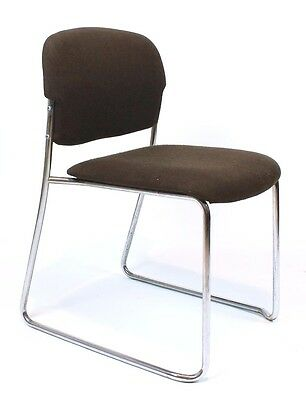 Vintage Retro Stacking Chair by Gerd Lange for  Drabert Germany 1960's