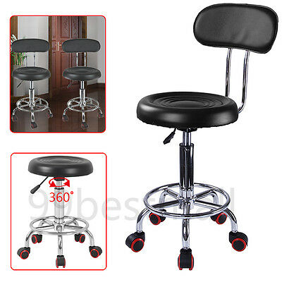 New Adjustable Beauty Spa Salon Stool Barber Tattoo Hairdresser Chairs Black UK