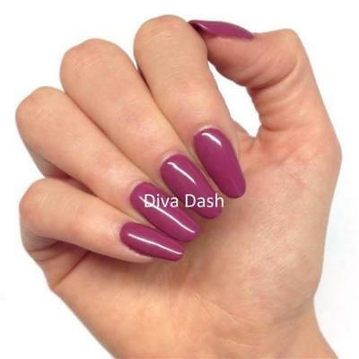 Bluesky DIVA DASH UV/LED Soak Off Gel Nail Polish Free Post 10ml Deep Raspberry