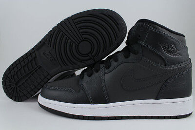 Nike Air Jordan 1 Retro High Hi Black/dark Gray/pink Women Girls Us Youth Sizes