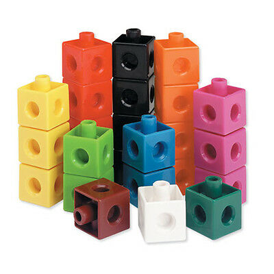 Learning Resources Snap Cubes Set of 100 for Children – NEW