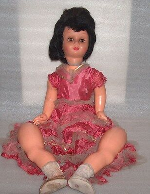 Rare Vintage Large Celluloid? Doll, Italy?, Not Marked, Damaged/disjointed