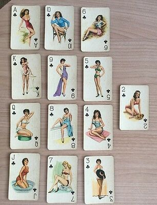 54 BIBA Playing Cards With 1940's Pin-ups