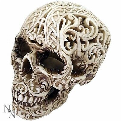 Celtic Skull | Collectable Skulls | Unusual Gift | Gothic Cool | NEMESIS NOW