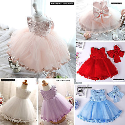 Vestito Bambina Abito Cerimonia Battesimo Girl Summer Princess Dress CDR054