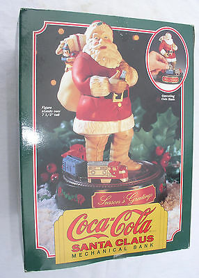 Coca-Cola Santa Claus Mechanical Bank