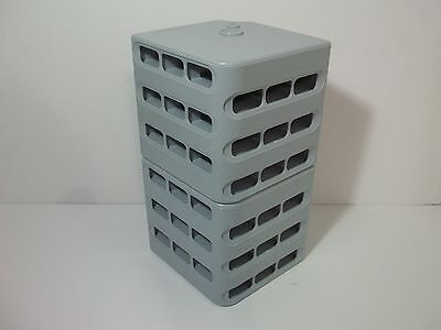 Lot of 2 .TOO Copic Marker Block Stand Stackable Holds 36 Markers Each!