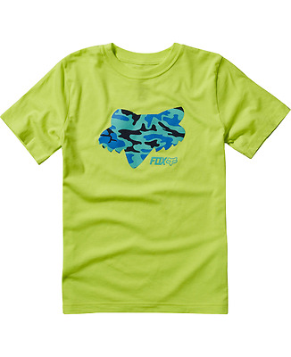 Fox T-Shirt  Youth Stenciled Ss Tee Green 2017 Tg M