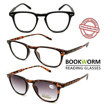 Depp Style Reading Glasses Sunglasses Mens Womens Retro Geek +1.00 +1.50 +2.00