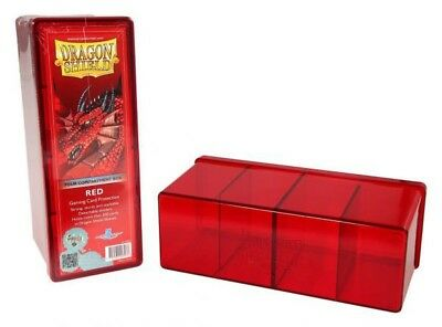Dragon Shield - 4 Compartment Storage Box Red - Karten Box