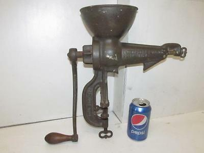 Antique Cast Iron Enterprise No. 34 Hand Crank Fruit Strainer Press Juicer 1888