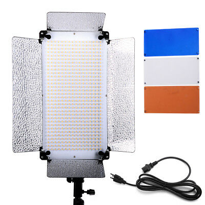 5500K 500 LED Light Panel Dimmable Photo Video Light Lamp For Studio Photography