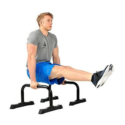 Body Press Push Up Stands Parallettes Home Gym Fitness Pushup Dip Bars Workout