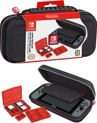 Nintendo SWITCH Deluxe Travel Case NNS40 Tasche Schutz Hülle Game Traveler