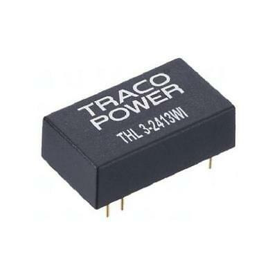1 x TRACOPOWER Isolated DC-DC Converter THL 3-4823WI, Vin 18-75V dc Vout ±15V dc