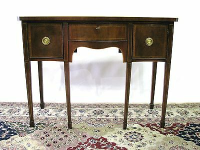 Baker Furniture Historic Charleston Collection Mahogany Server; Satinwood Inlay