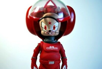 RED COSMOUSE SCARYGIRL KOJI TAKEUCHI mouse space astronaut  nathan jurevicius