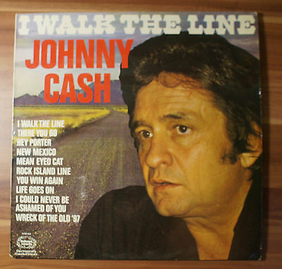 "12"" LP Vinyl Johnny Cash - I Walk The Line Hallmark SHM849"