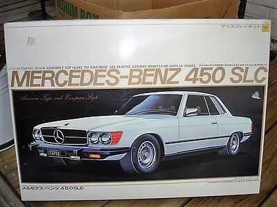 RARE Vintage Otaki 1/12 Scale MERCEDES-BENZ 450 SLC Model KiT