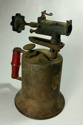Steampunk Blow Torch Turner Brass Blowtorch Vintage Industrial Free Shipping