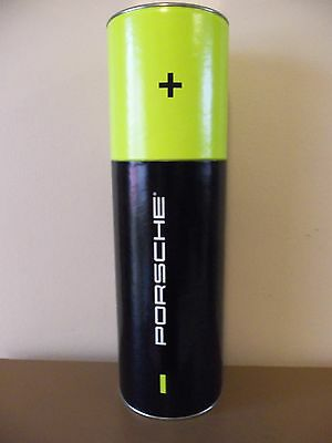 """New Porsche Cardboard Storage or Mailing Tube---Collectible---3 1/2"""" x 12"""" High"""