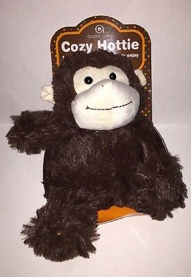 Aroma Home Cozy Hottie Plush Monkey w/ Microwavable Inner Pillow-Lavender Scent