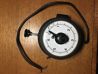 photographic darkroom exposure timer; time switch