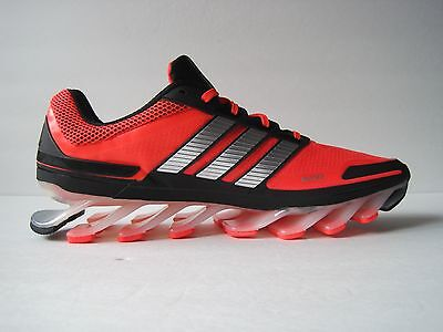 innovative design fe4e0 f39c9 ADIDAS SPRINGBLADE M Lace Up Mens Running Shoes Red Black Silver Size 13  NWOB