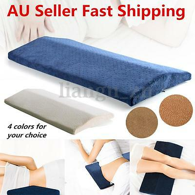 Memory Foam Lumbar Sleeping Pillow Waist Back Support Pad Pain Relief Cushion