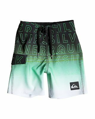 NEW QUIKSILVER™  Boys 2-7 Division Word Boardshort Boys Children Swim Shorts