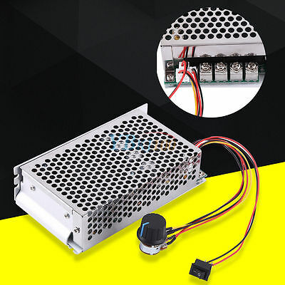 10-50V 100A 5000W Reversible DC Motor Speed Controller PWM Control Switch HighQ