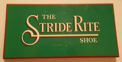The StrideRite Shoe Advertising Standup Sign