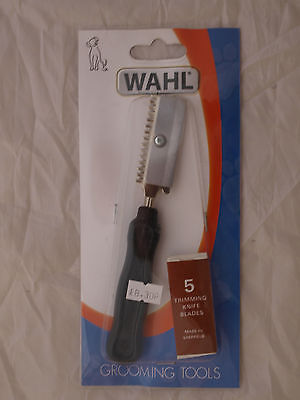 Wahl Trimming Knife And Blades For Dogs