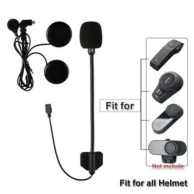 New Helm Earphone Headset für FDC Bluetooth Intercom Motorrad Gegensprechanlage