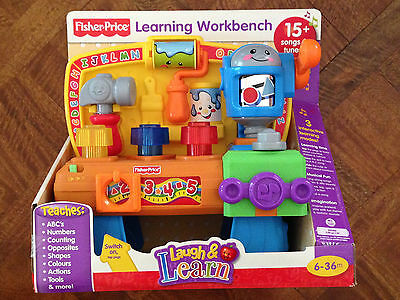 BRAND NEW! Fisher Price Laugh & Learn Learning Workbench Child Development
