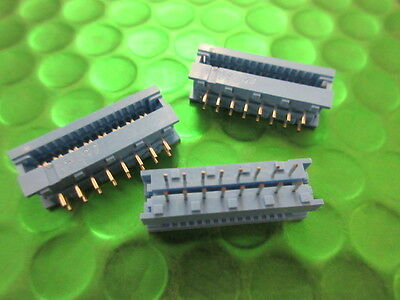 622-1653, IDC CONNECTOR HEADER 16 WAY, PCB Mount, UK Made. *5 per* £0.99ea!!