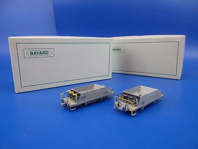 BAYARD HOm GAUGE PAIR OF CARRO TRASPORTO PIETRISCO SELBSTENTLADEWAGEN 157 AND134