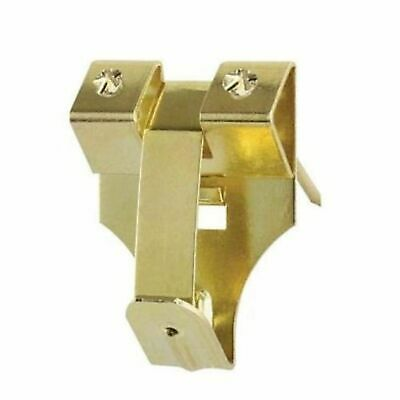 Safety Security Picture Hooks & Pins Brass Plated
