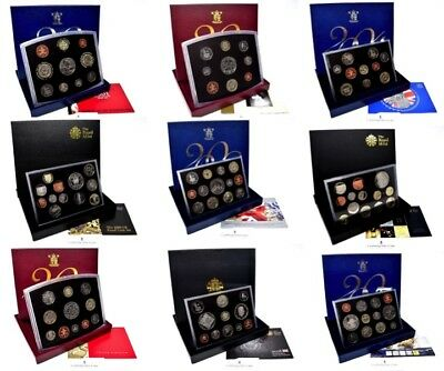 Royal Mint Proof Coin Year Set 2000 To 2011 Choose Your Dates Gift Birthday