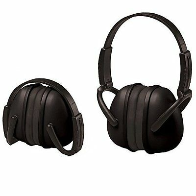 24 Pack - ERB Safety 14241 Ear Muffs 239* Foldable Black  NEW  JUST IN EARMUFFS