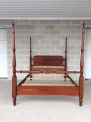 Pennsylvania House Quality Full/double Cherry Poster Bed Chippendale Style