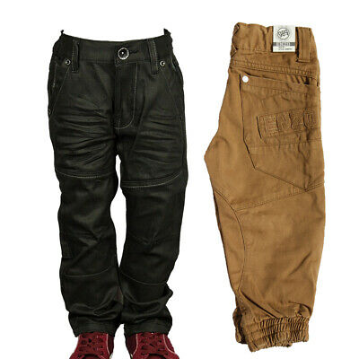 New Boys Cheap Jeans Branded Enzo Cuffed & Straight Leg Black Colours Sale Price