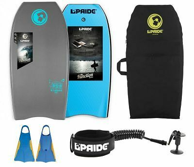 Pack Bodyboard Pride Stereo Gris HD 2017 - PROMO