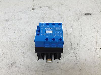 Celduc Celpac SIT865570 SVT865570-WH 24-520 VAC 50 A 3 Phase Solid State Relay