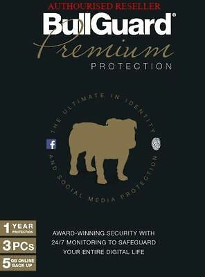 BullGuard 2019 Premium Protection Internet Security 3 Users 1 Year - Download