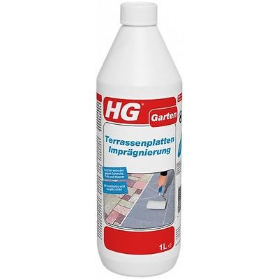 HG Patio Slabs Waterproofing 1 LITRE Stone Tile Natural Stone UV Resistant