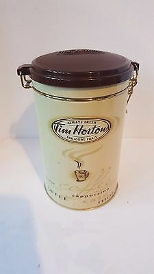 TIM HORTONS Collectable Coffee Canister Tin #005 Always Fresh Limited Edition