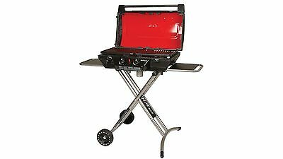 Coleman NXT 200 Camping Grill - Dual Burner Thermometer & Piezo Ignition