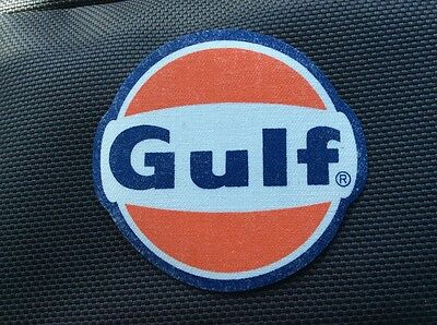 vintage gulf patch iron-on uniform attendant patch gas Service station Oil